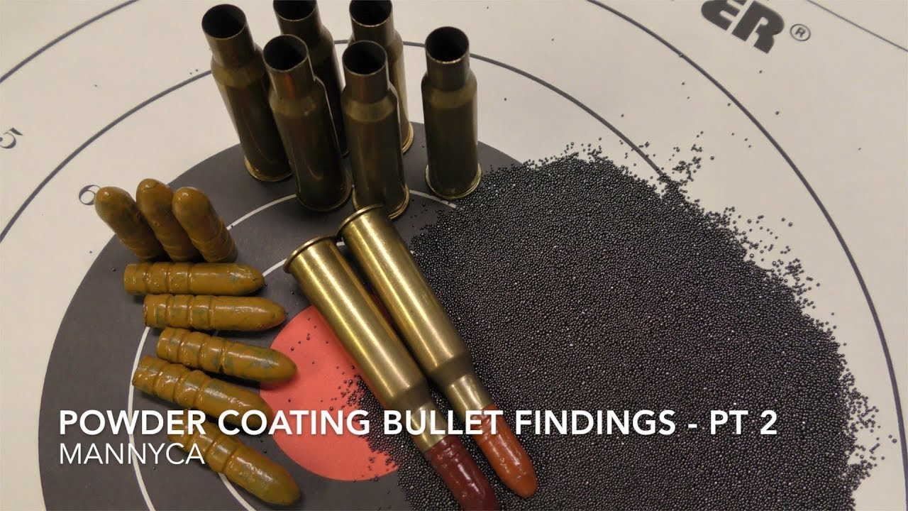 Powder Coated Bullets - Effects and Cautions Part 2