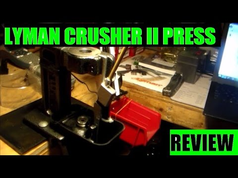 Lyman Crusher II Single stage  Reloading Press Review