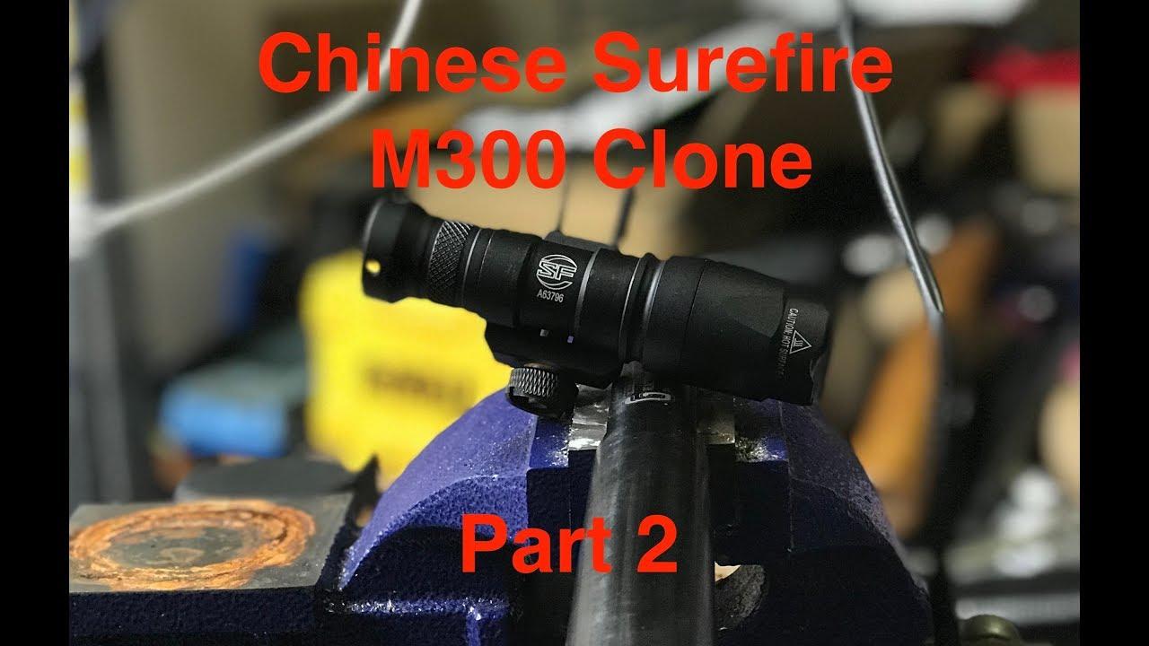Chinese SureFire M300 Clone, Part 2