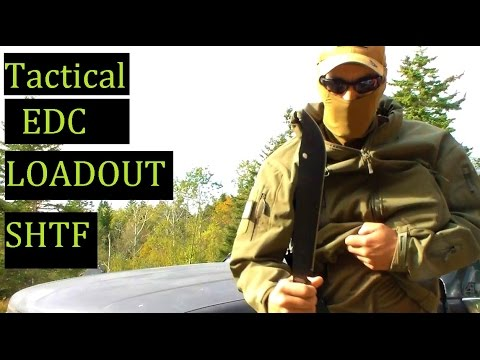 Tactical Timmy Tango EDC Loadout Gear SHTF to Whatever