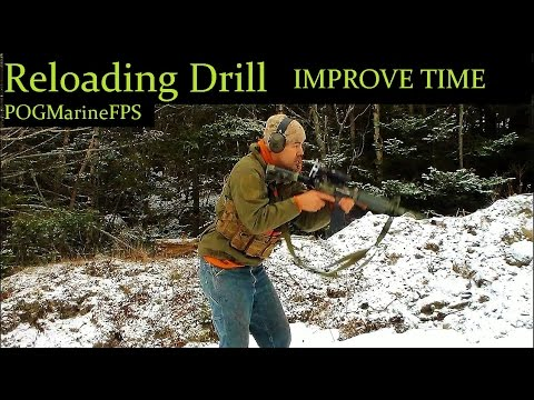 Quick Reload Drill - Improve Your Magazine Reloading Times - AR-15 Rifle Carbine or Pistol