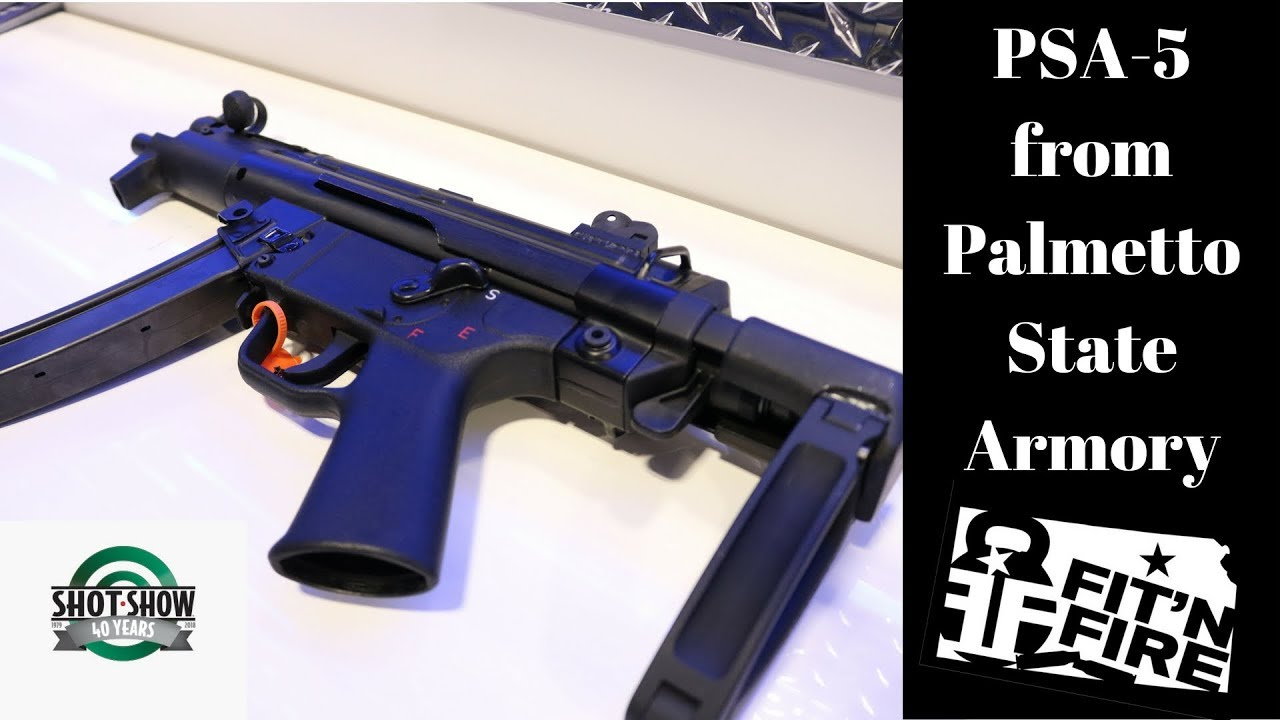 PSA Releases a MP5 at Shot Show