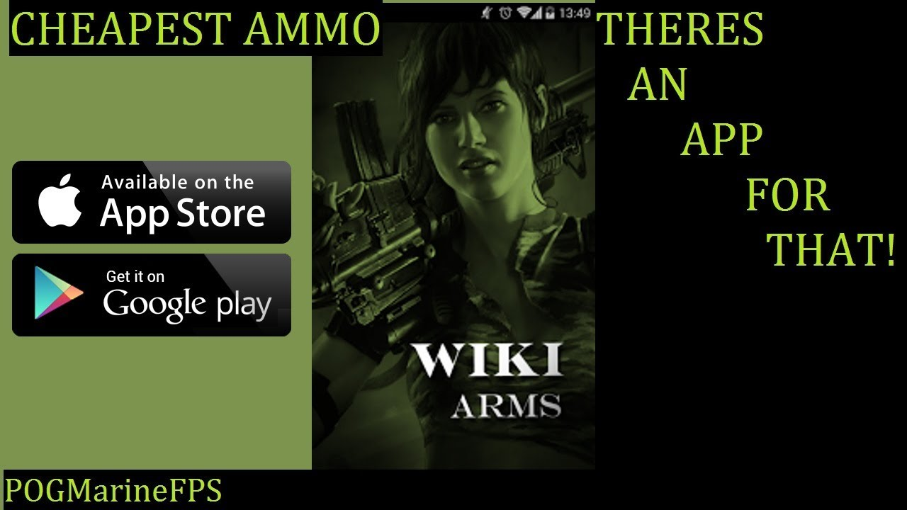 App For Cheapest Ammo Any Caliber with options Steel/ Brass WIKI ARMS
