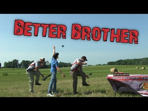 The Throw Kick N Load Shot - Who's the Better Brother? | Gould Brothers