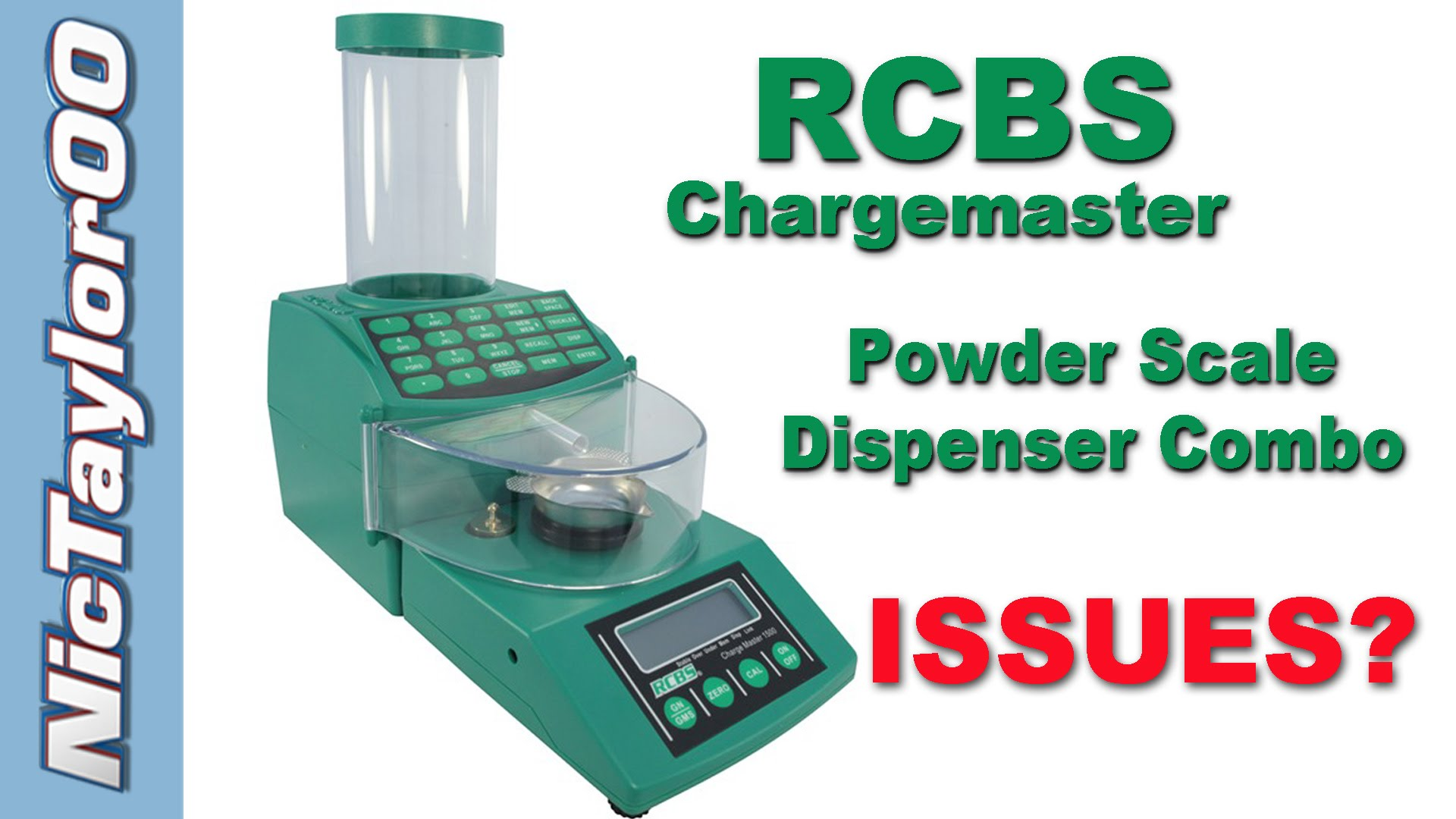 RCBS Chargemaster 1500 Dispenser and Scale Combo Key Pad Fix