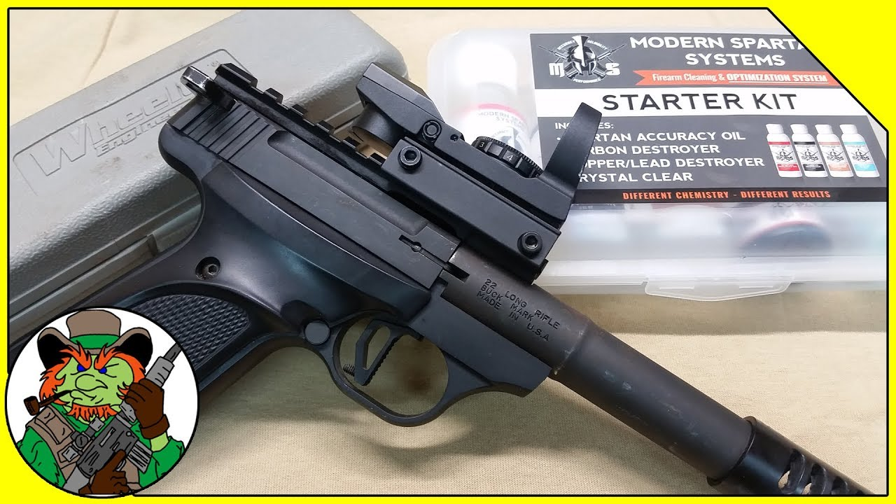 Browning Buckmark Barrel Maintenance With Modern Spartan System Products