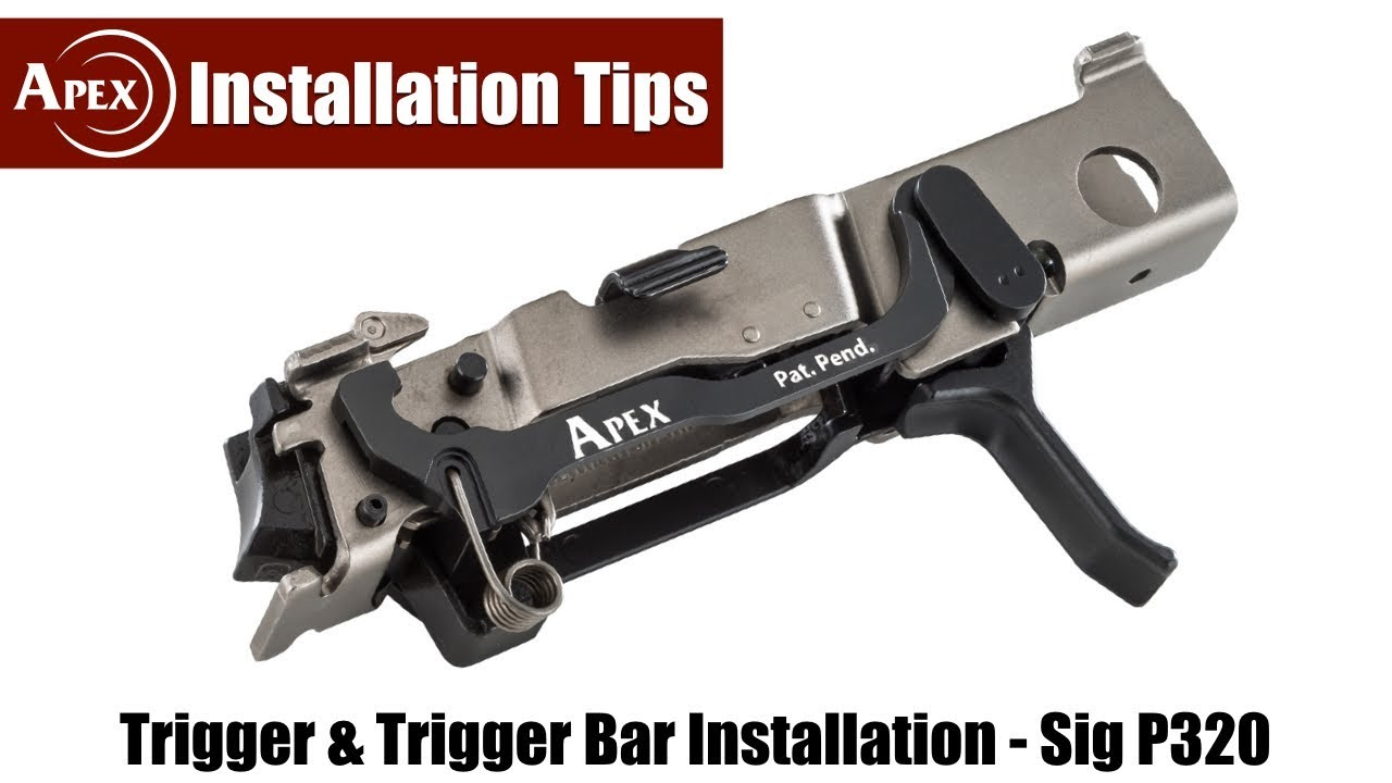 Apex Trigger Bar Kit Installation for the Sig Sauer P320