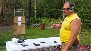 45acp vs 380 speed test