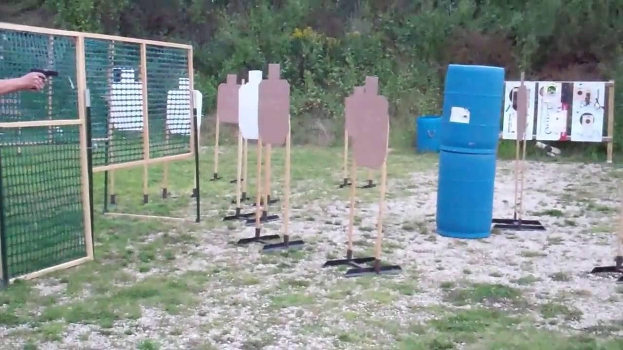 2016-08-23 Winona Sportsmen's Club   USPSA Style Practical Pistol Shoot   Bay 2