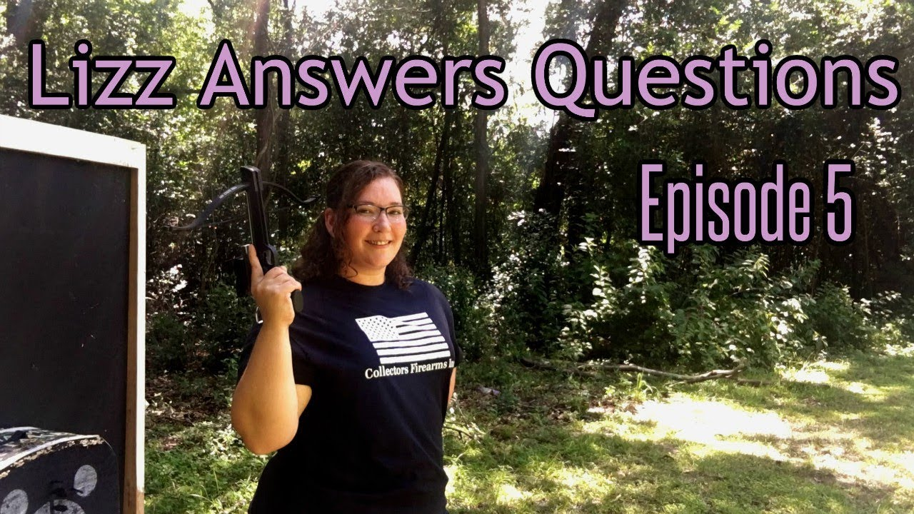 Lizz Answers Questions AND Shoots a Pistol Crossbow