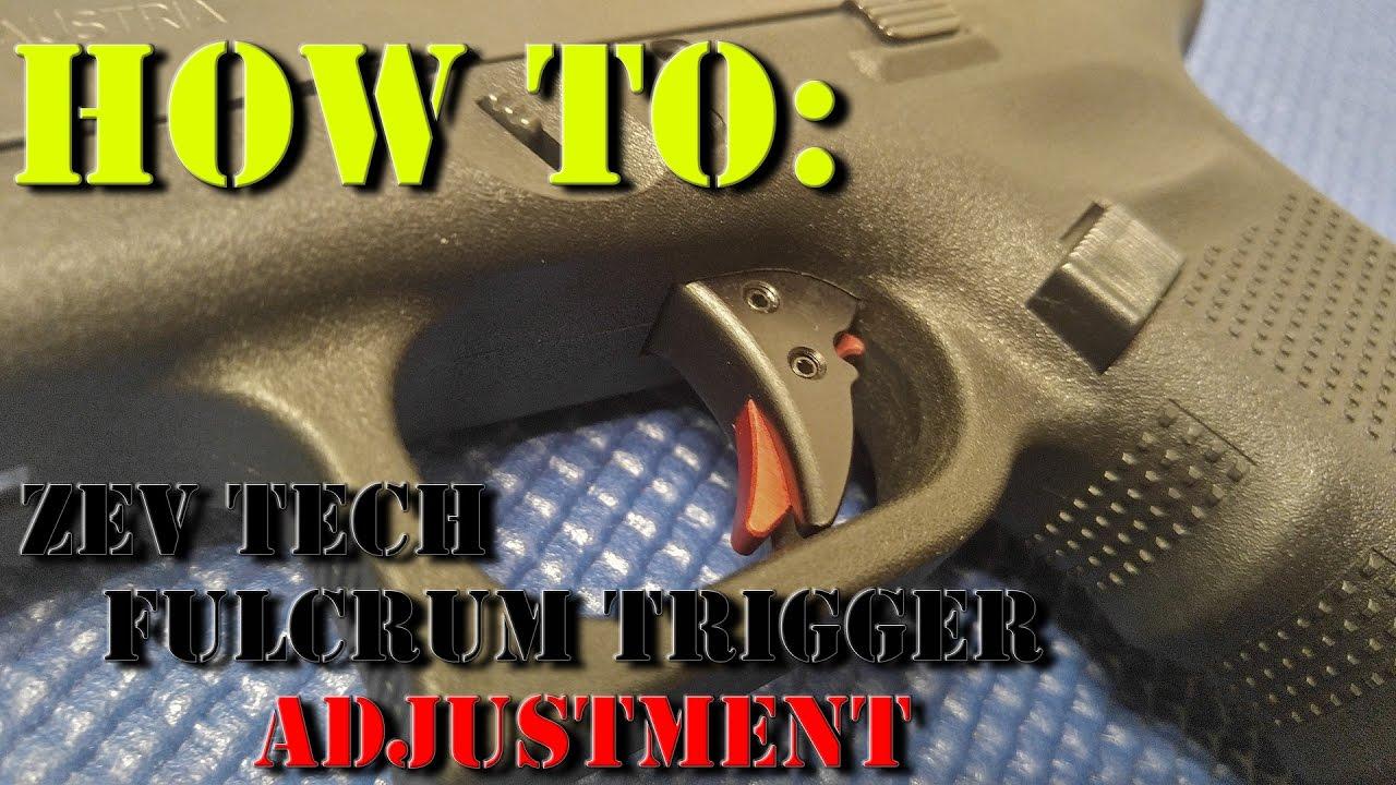 ZEV Technologies Fulcrum Trigger Adjustment