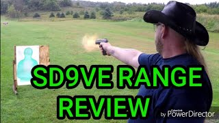 Smith and Wesson SD9VE Range Day & Review