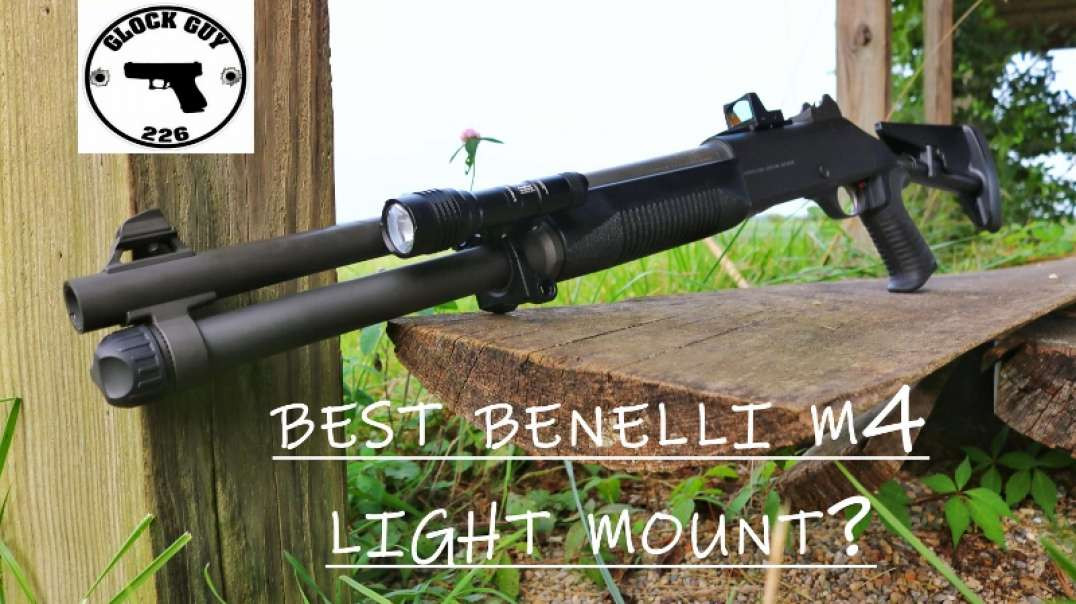BENELLI M4 LIGHT MOUNT FROM IMPACT WEAPONS COMPONENTS!!
