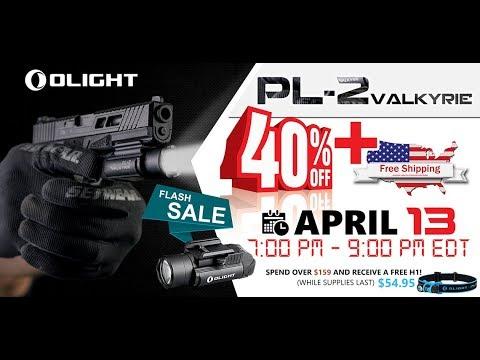 Olight PL-2 Weapon Light FLASH SALE