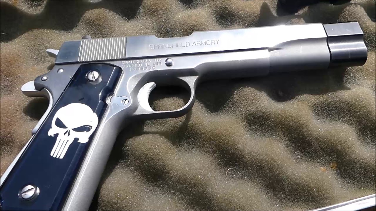 Shooting the Springfield Armory 1911 A1