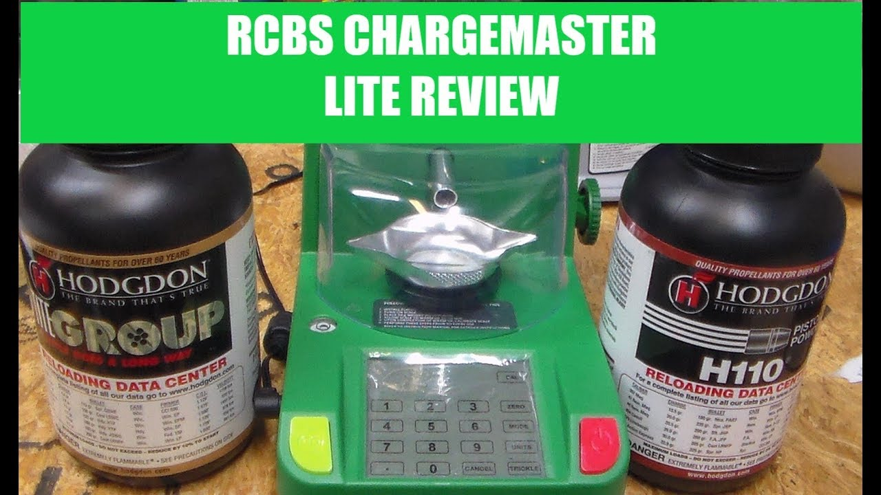 RCBS CHARGEMATER LITE REVIEW