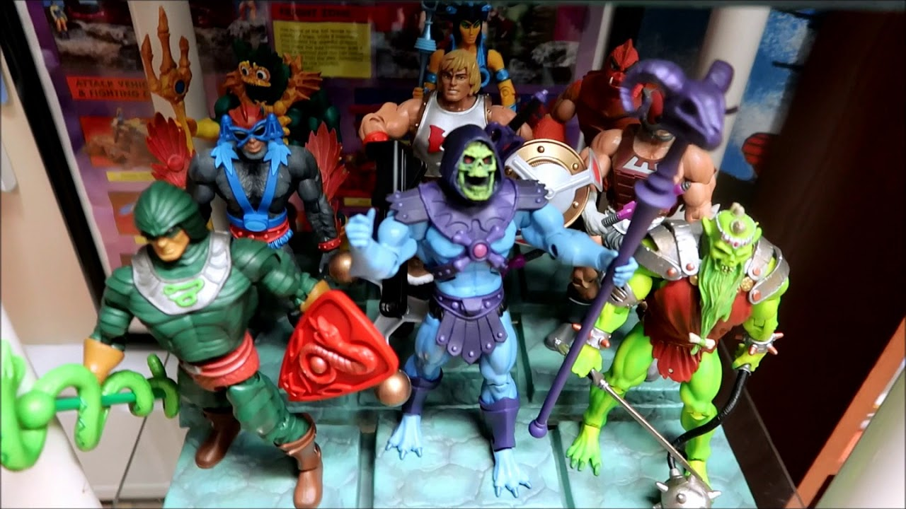 a  quick tour  of my masters of the universe collection  09/02/18