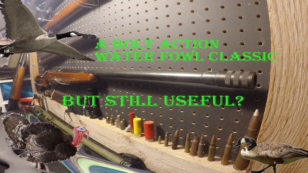 Mossberg 395KB 12 Gauge Bolt Action Shotgun. Gun Wall Review #3