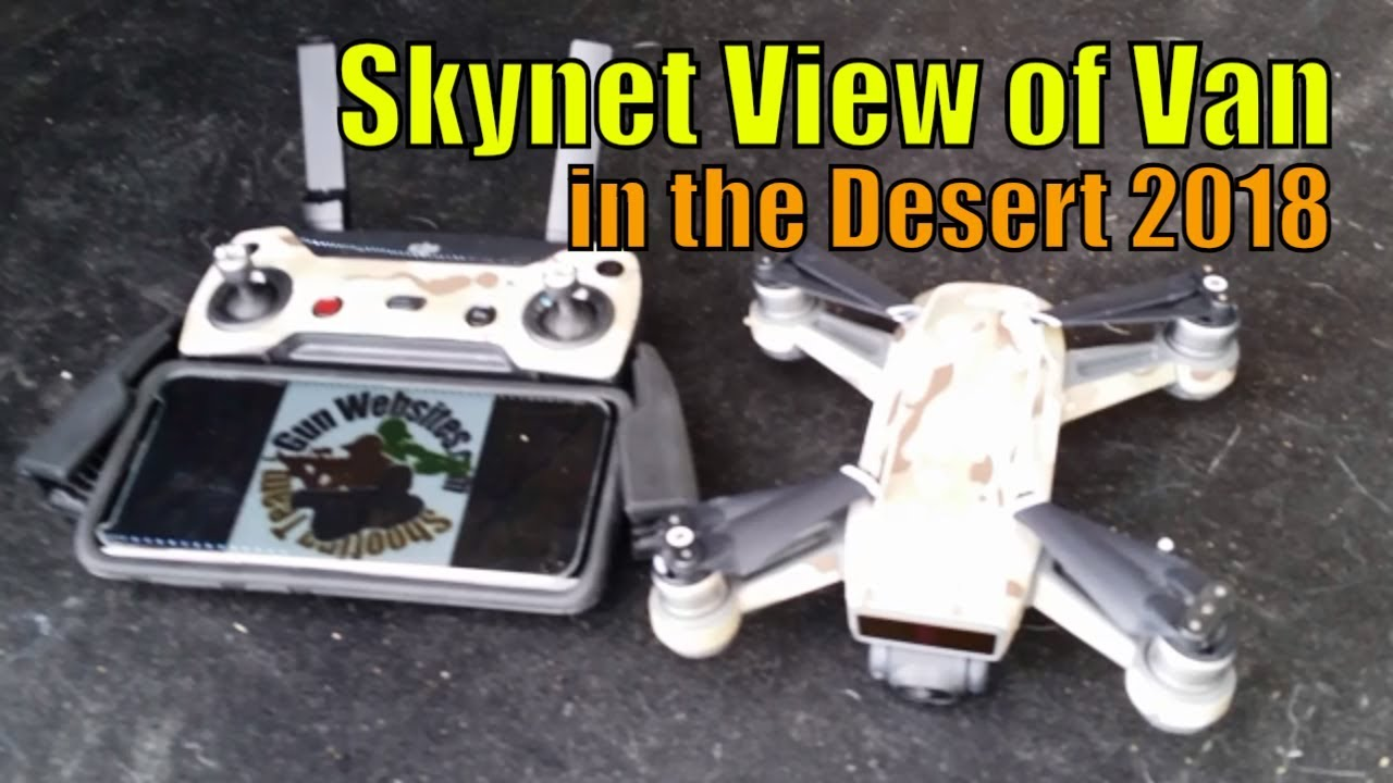 Skynet View of Van in the Desert 2018