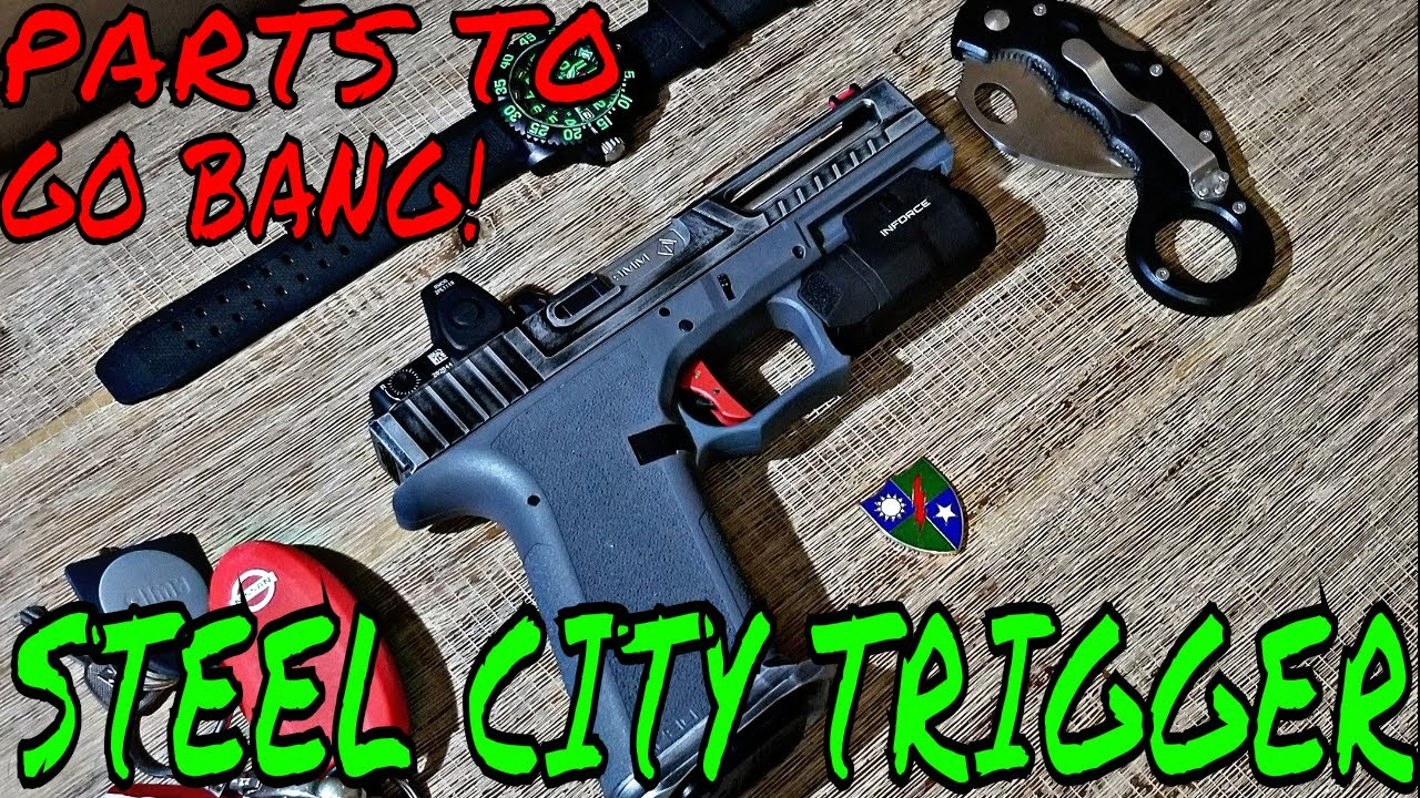 Steel City Arsenal Trigger! Going Bang 💥