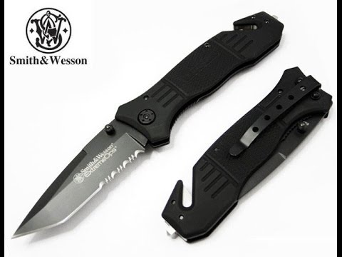 Smith & Wesson Extreme Ops Knife