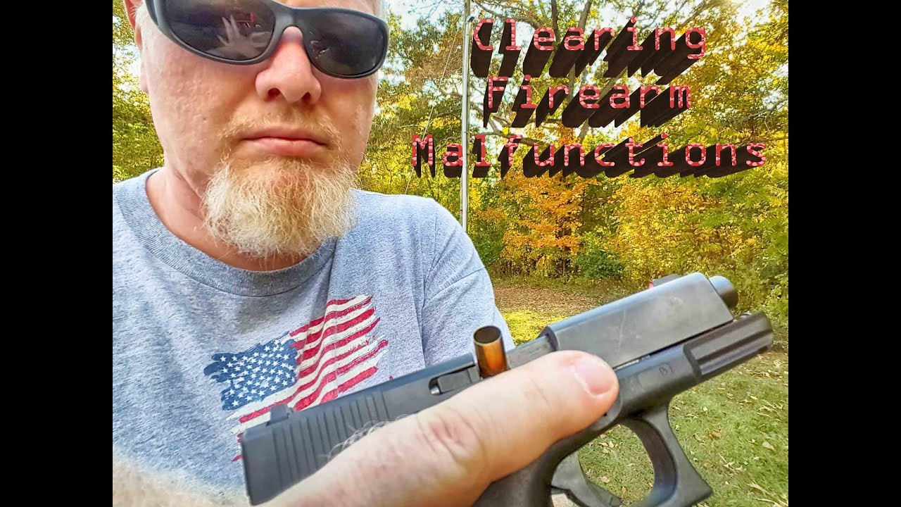 Clearing handgun malfunctions