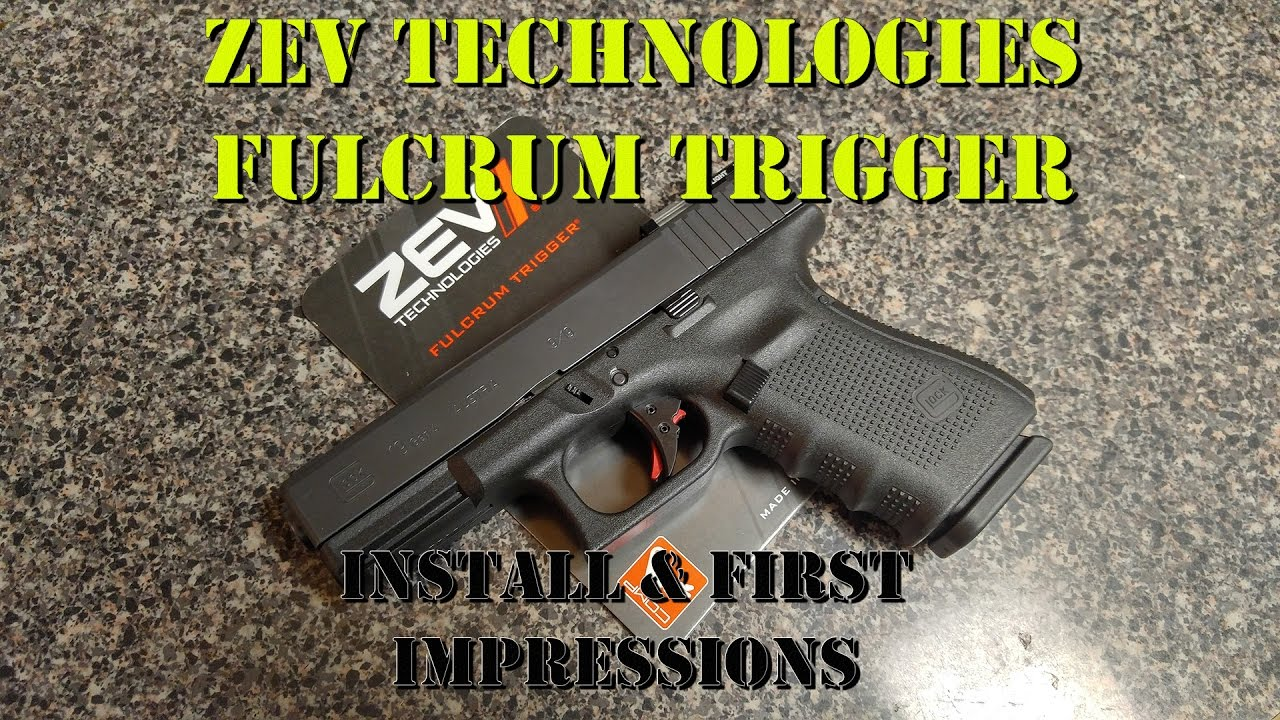 ZEV Technologies Fulcrum Trigger Install & First Impressions
