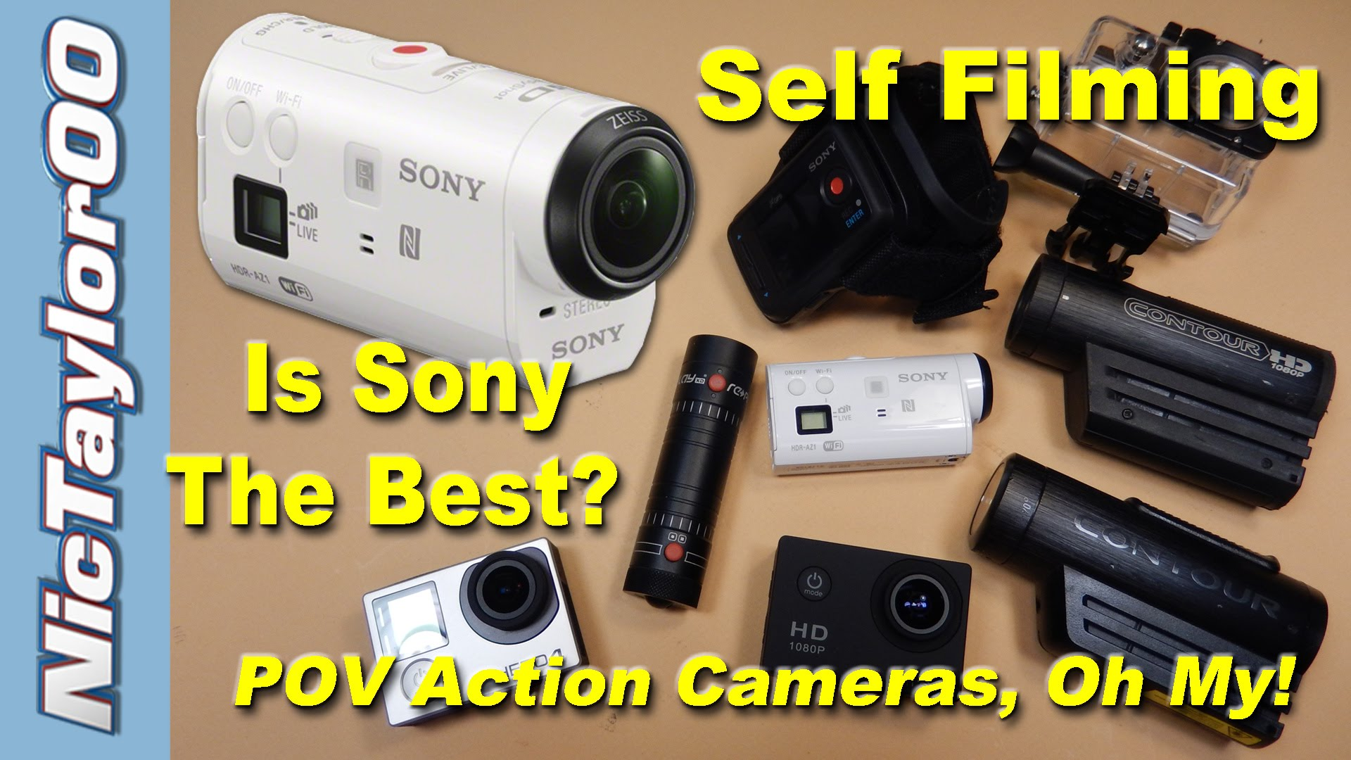 Sony Action Camera - The Best POV Camera EVER?