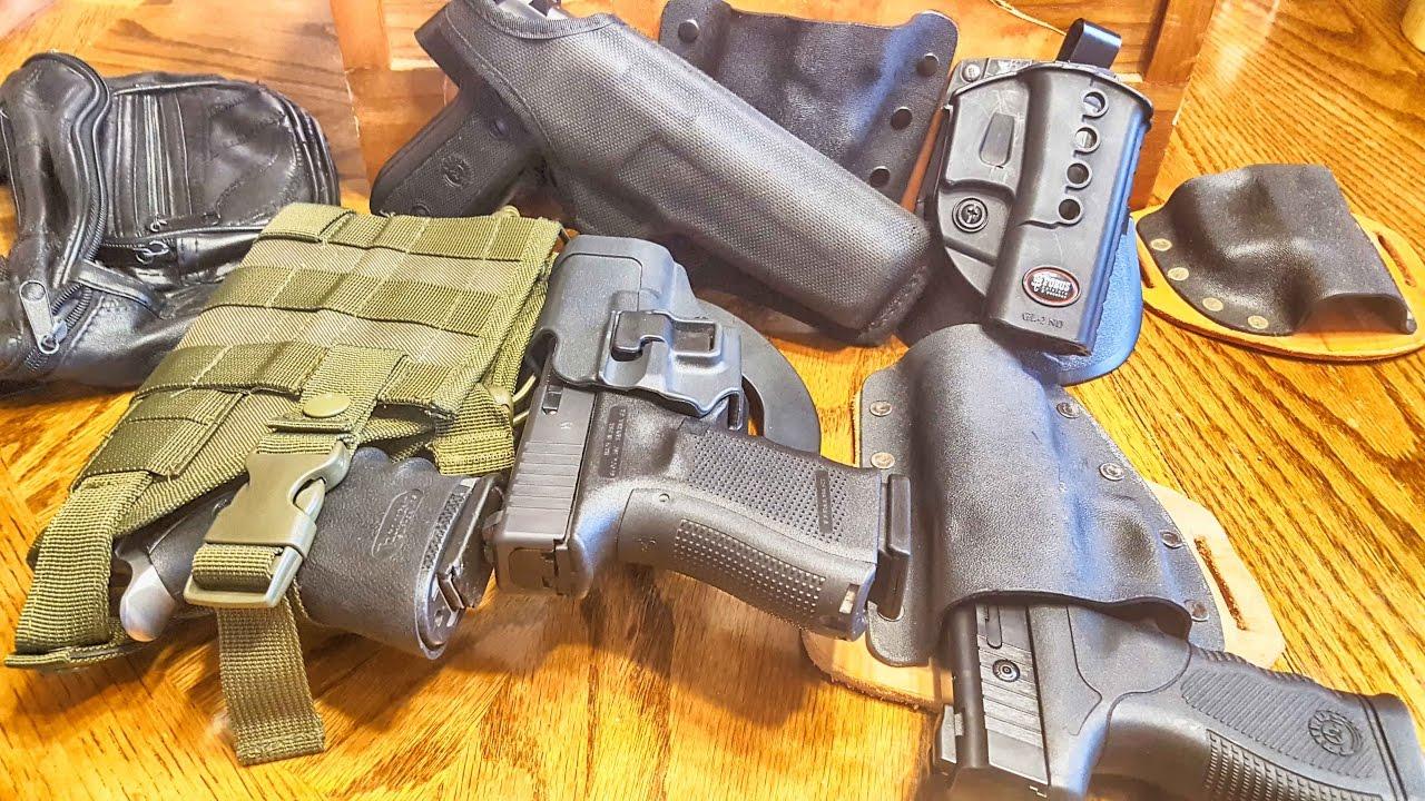 Types of gun holsters