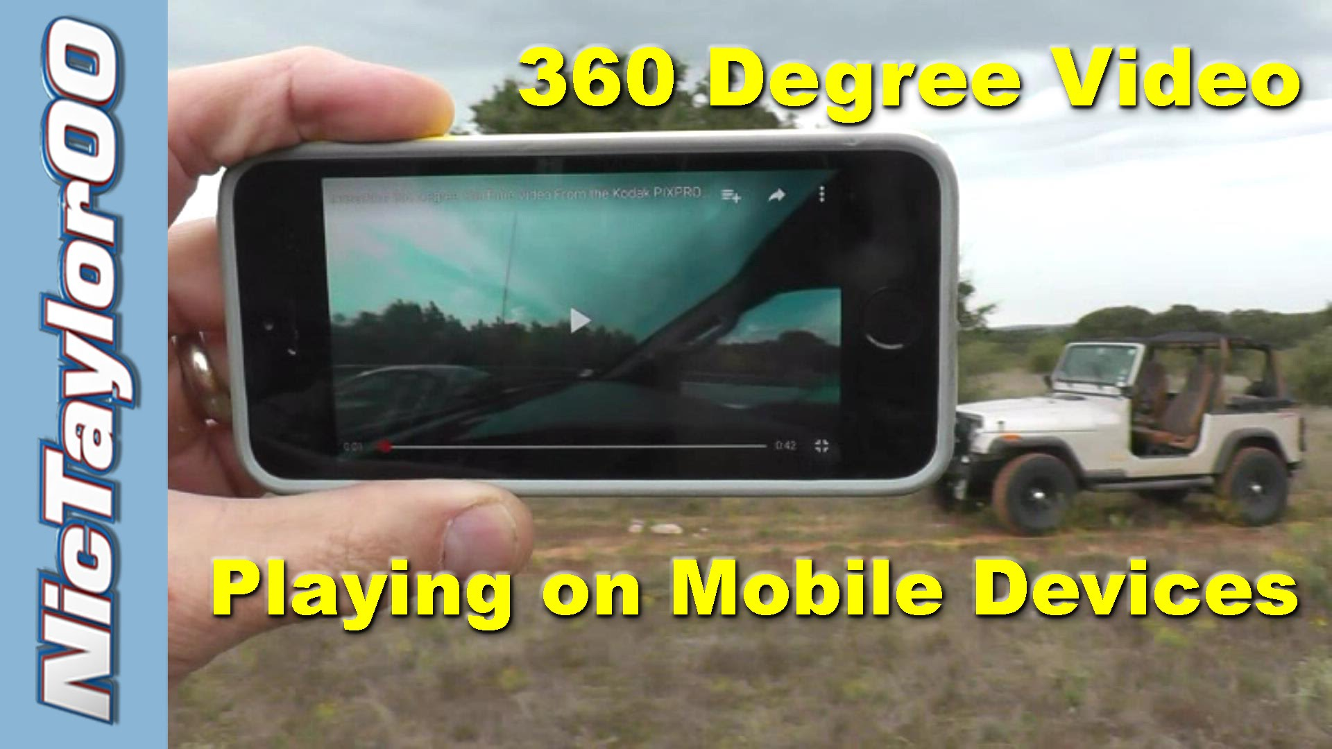 360 Degree Video as Seen on Your Phone, Tablet or Mobile Device