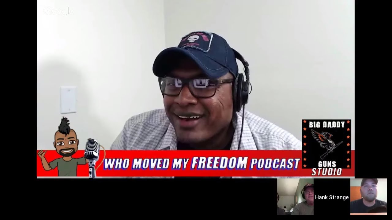 Hank Strange Who Moved My Freedom Podcast #2 - Walter Keller