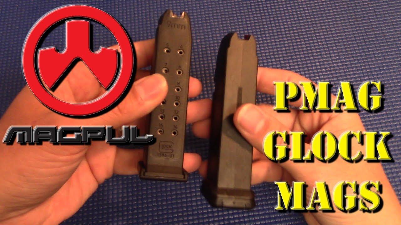 Magpul PMAG 15 GL 9 Glock Mags