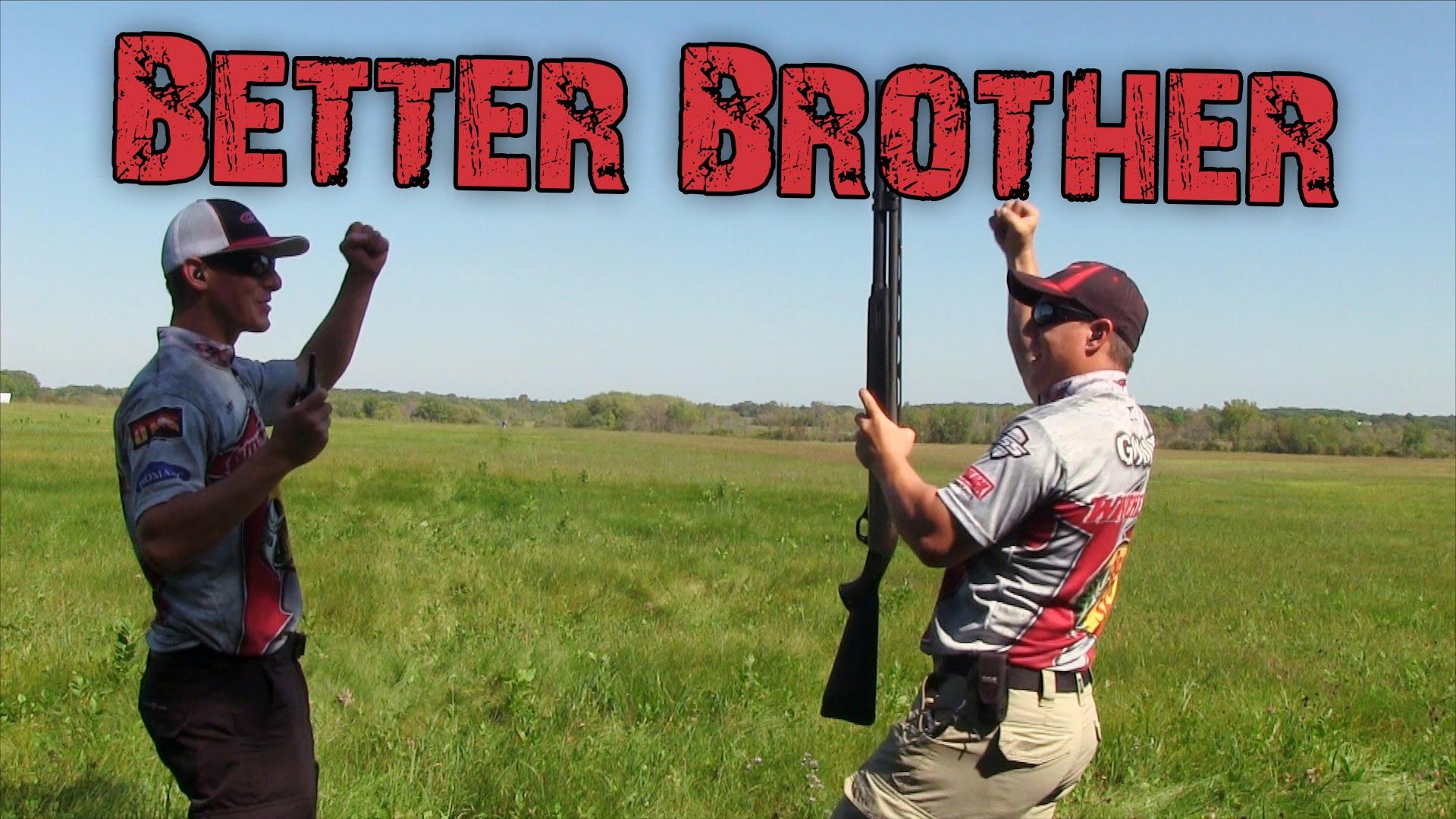 125 yard Shotgun Challenge | Gould Brothers