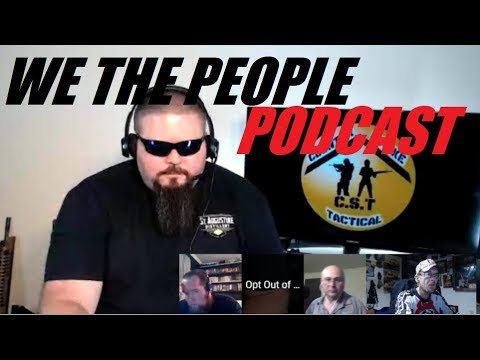 WE THE PEOPLE weekend podcast with special guests jump on and say hello