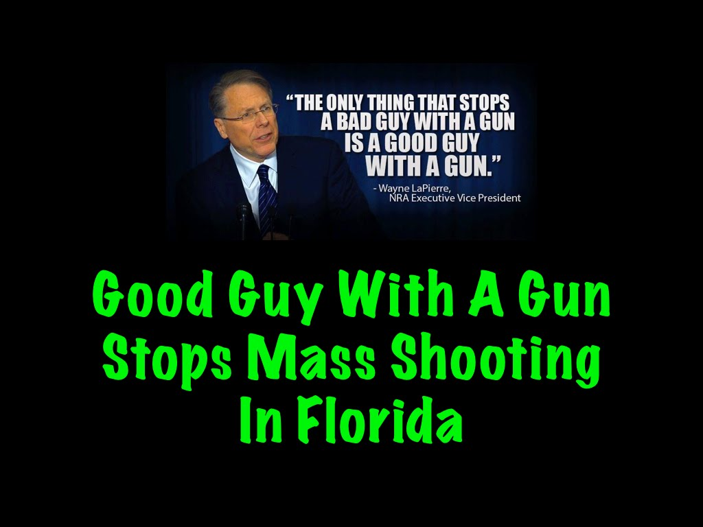 Good Guy With A Gun Stops Mass Shooting BUT The Media Won't Tell You