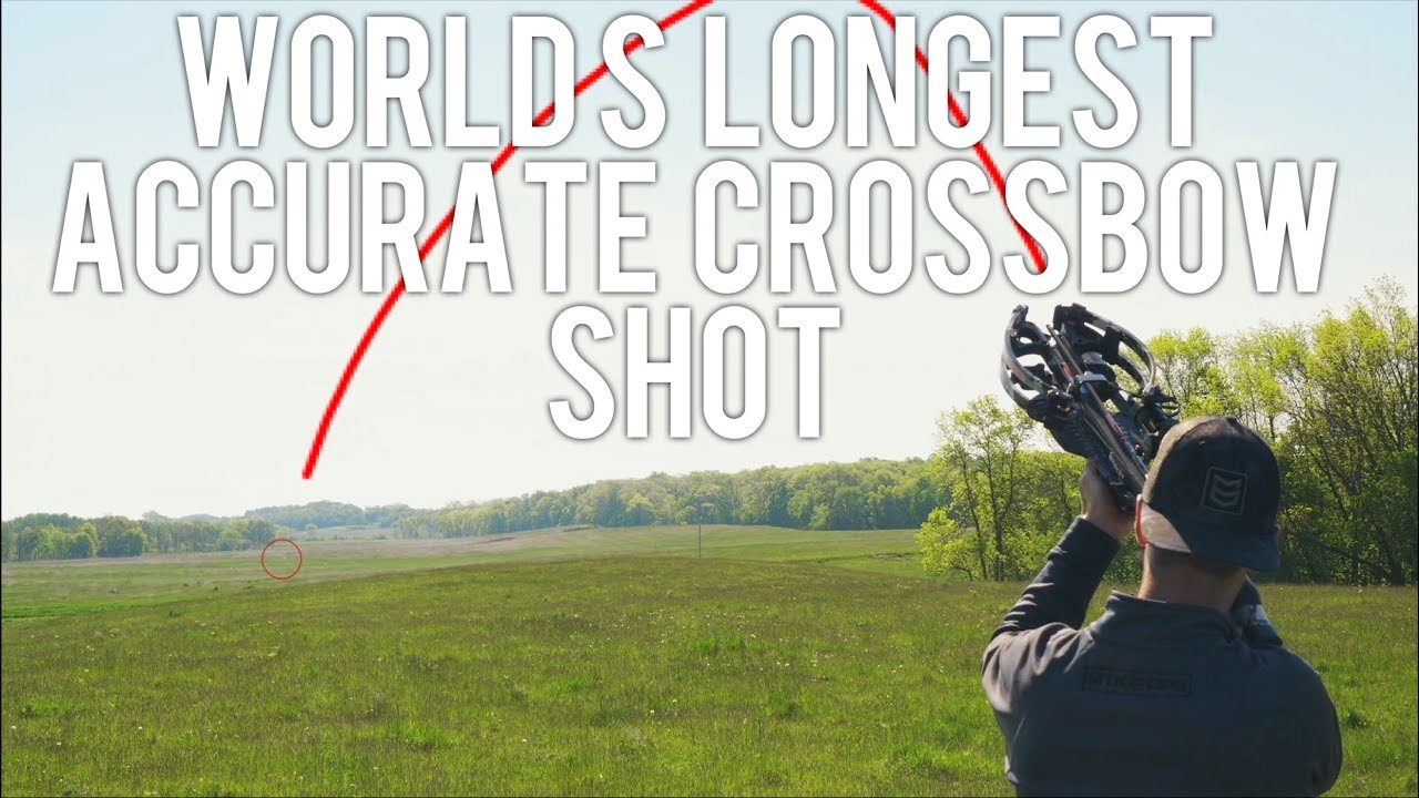 World Record - Longest Accurate Crossbow Shot | 680 yards | Gould Brothers