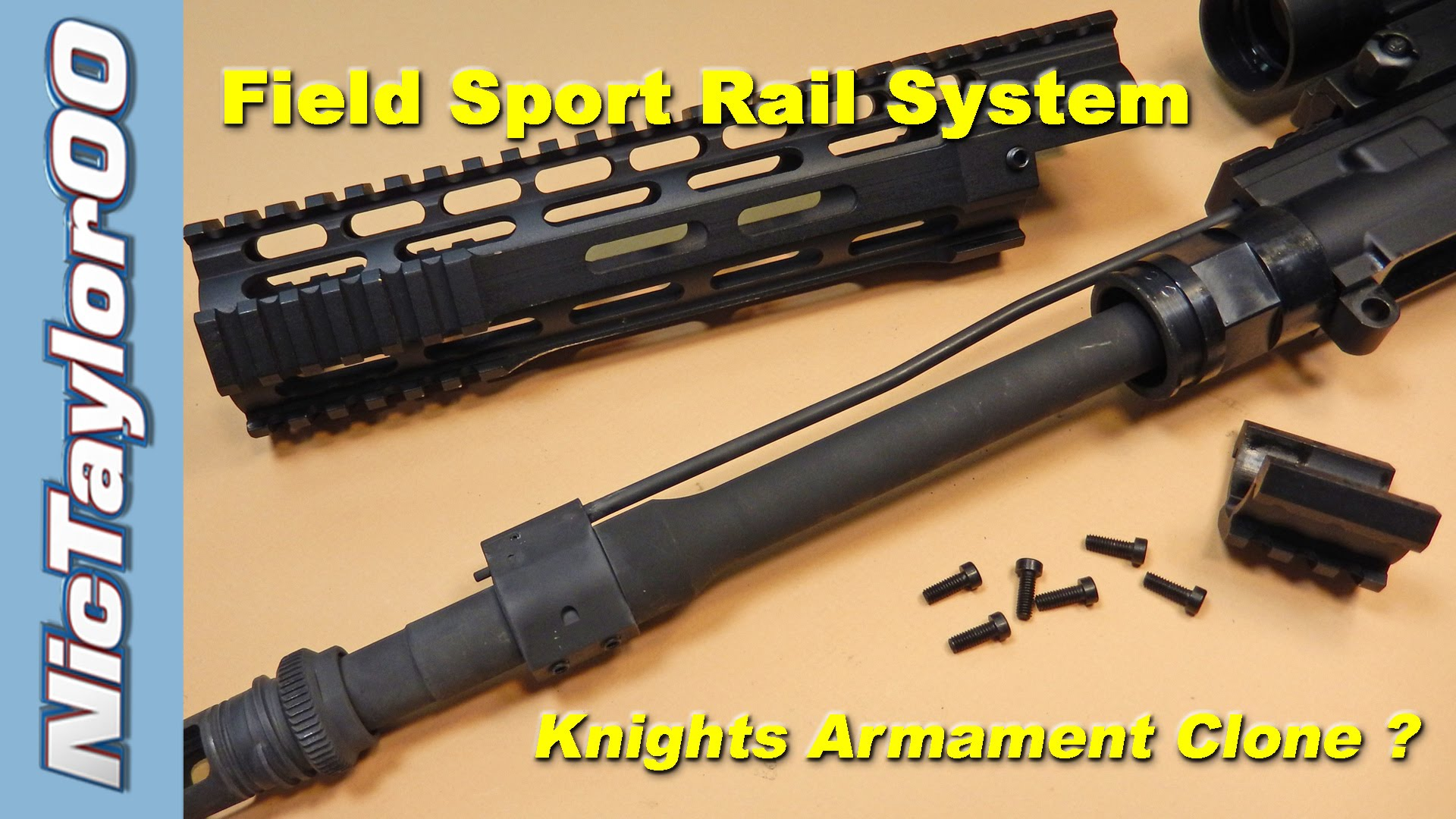 Field Sport AR15 Handguard REVIEW & Install Instructions - VERY EASY