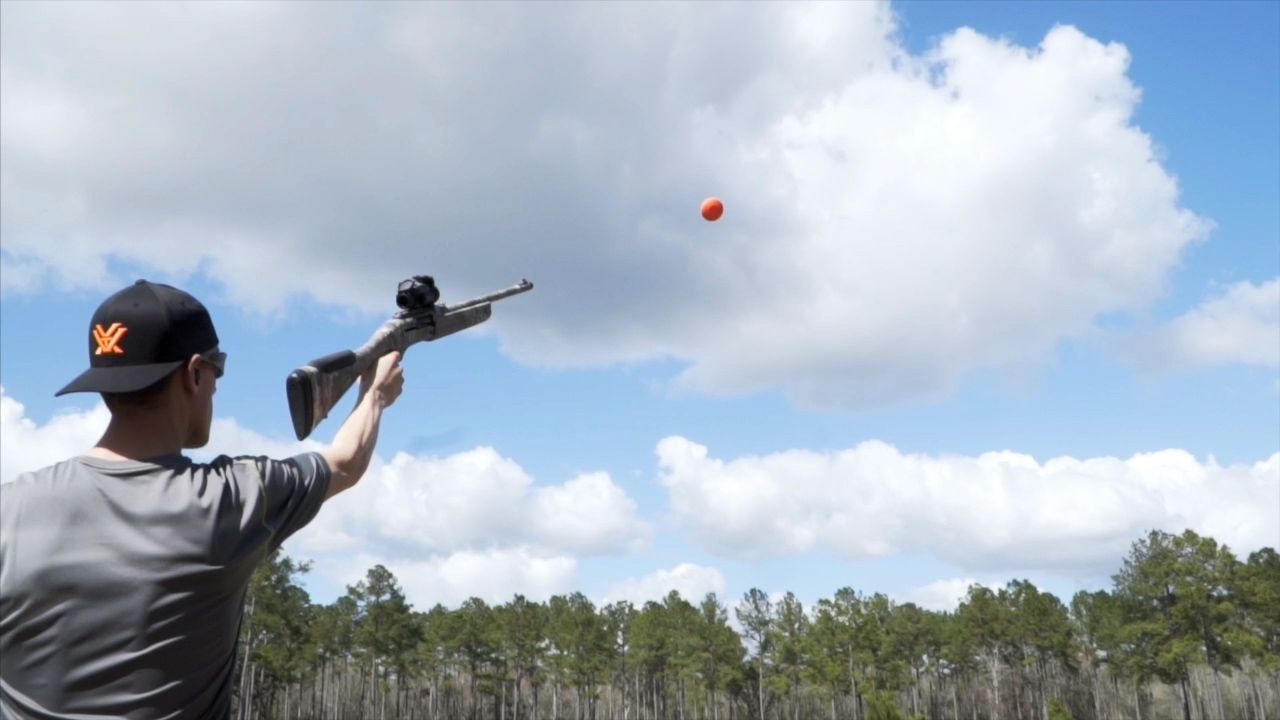 Gun and Bow Trick Shots: Extreme Turkey Hunting Practice | Gould Brothers