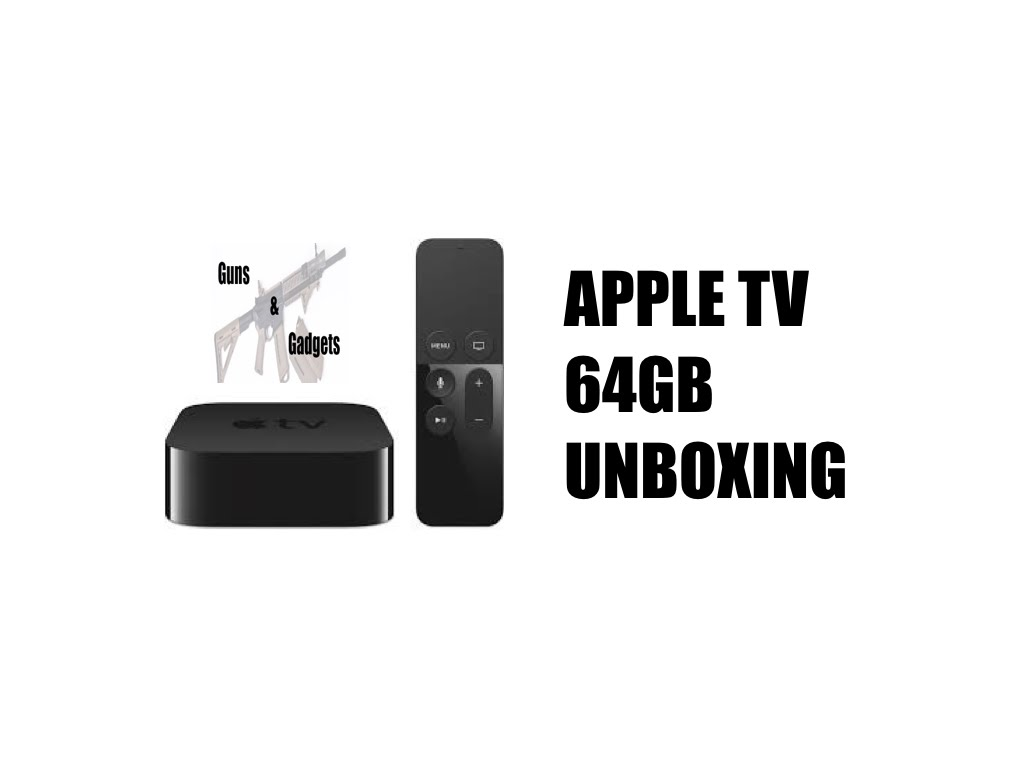 Apple TV 64GB (4th Gen) Unboxing