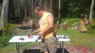 Shooting Steel Case and Aluminum Case ammunition