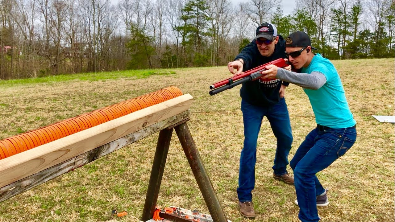 How Many Clays Will a Shotgun Shoot Through? ft. 22Plinkster | Gould Brothers