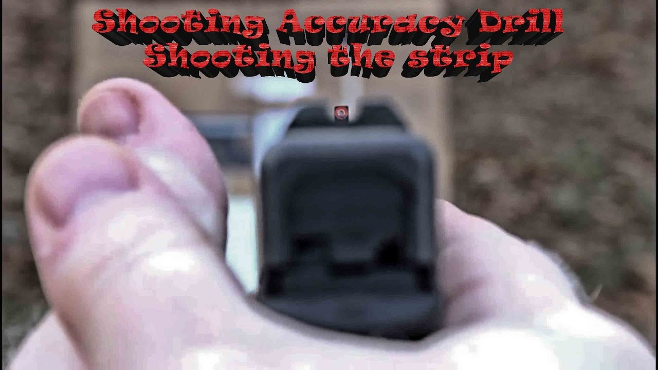 Shooting Accuracy Drill Shooting the strip