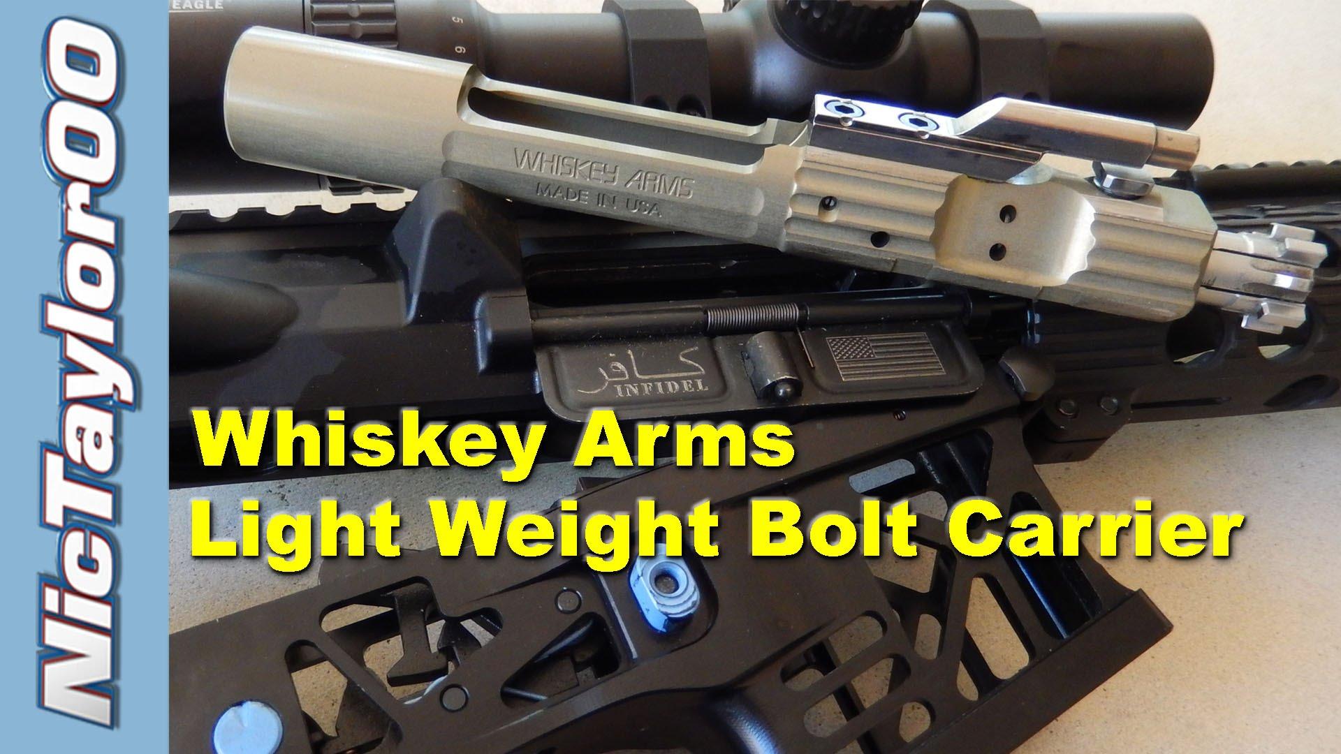 AR15 Whiskey Arms Aluminum Bolt Carrier
