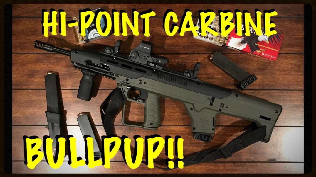 HI-POINT CARBINE / HIGH TOWER ARMORY BULLPUP STOCK CONVERSION HTA MBS 95 - UNBOXING & TEASER VIDEO!!