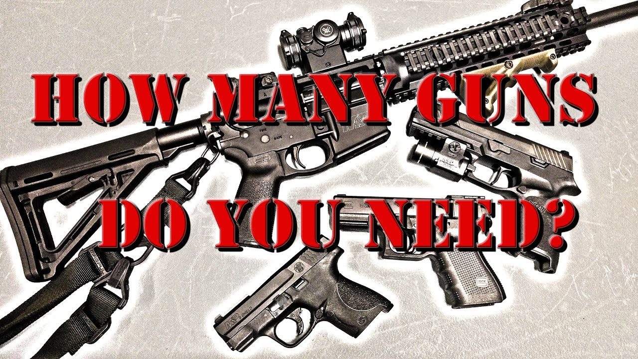 How Many Guns Do You Need?