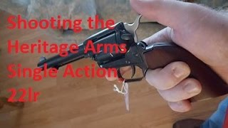 Shooting the Heritage Arms Single Action  22