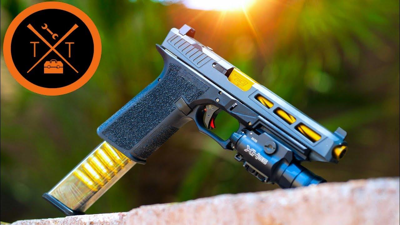 Affordable Custom Glock 34 Build... Polymer 80 Serialized Frame?