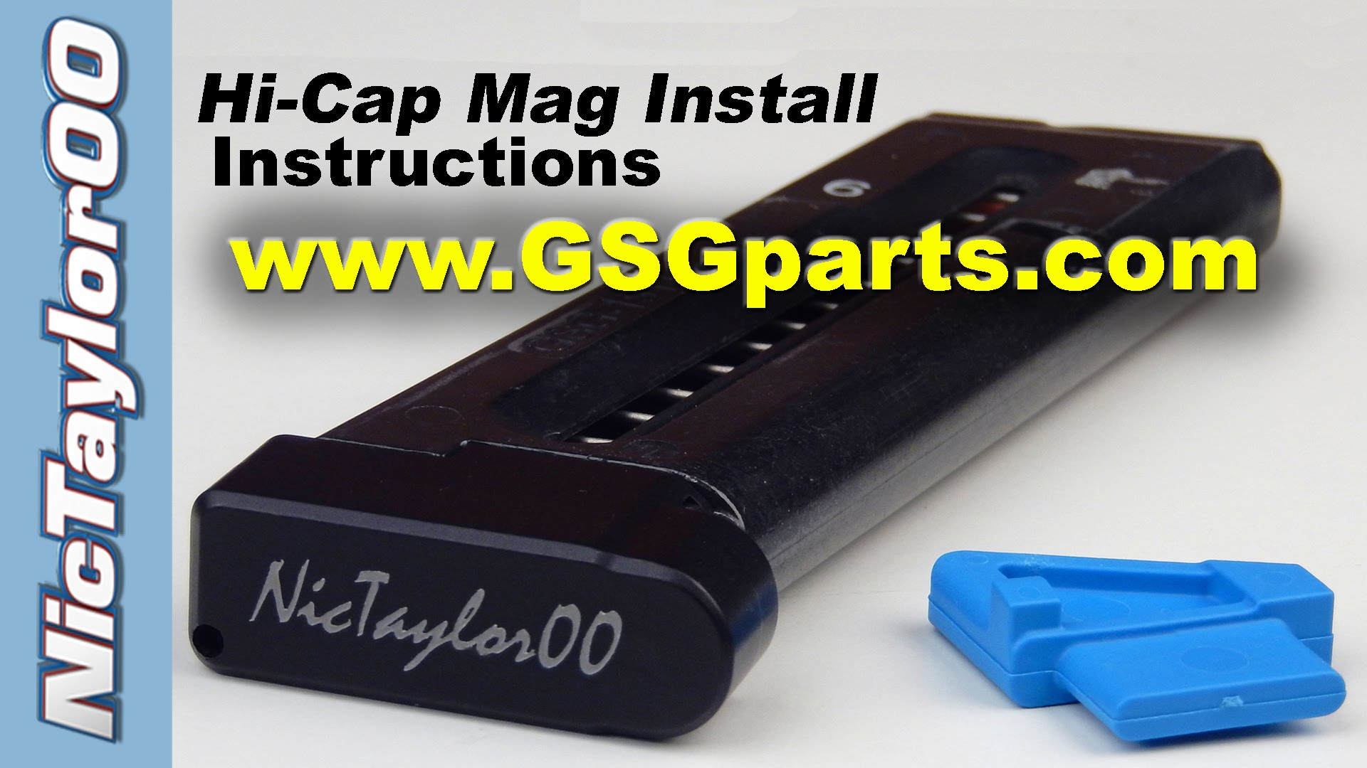 Sig 1911-22 & GSG 1911 Hi-Cap Magazine Intall Instructions
