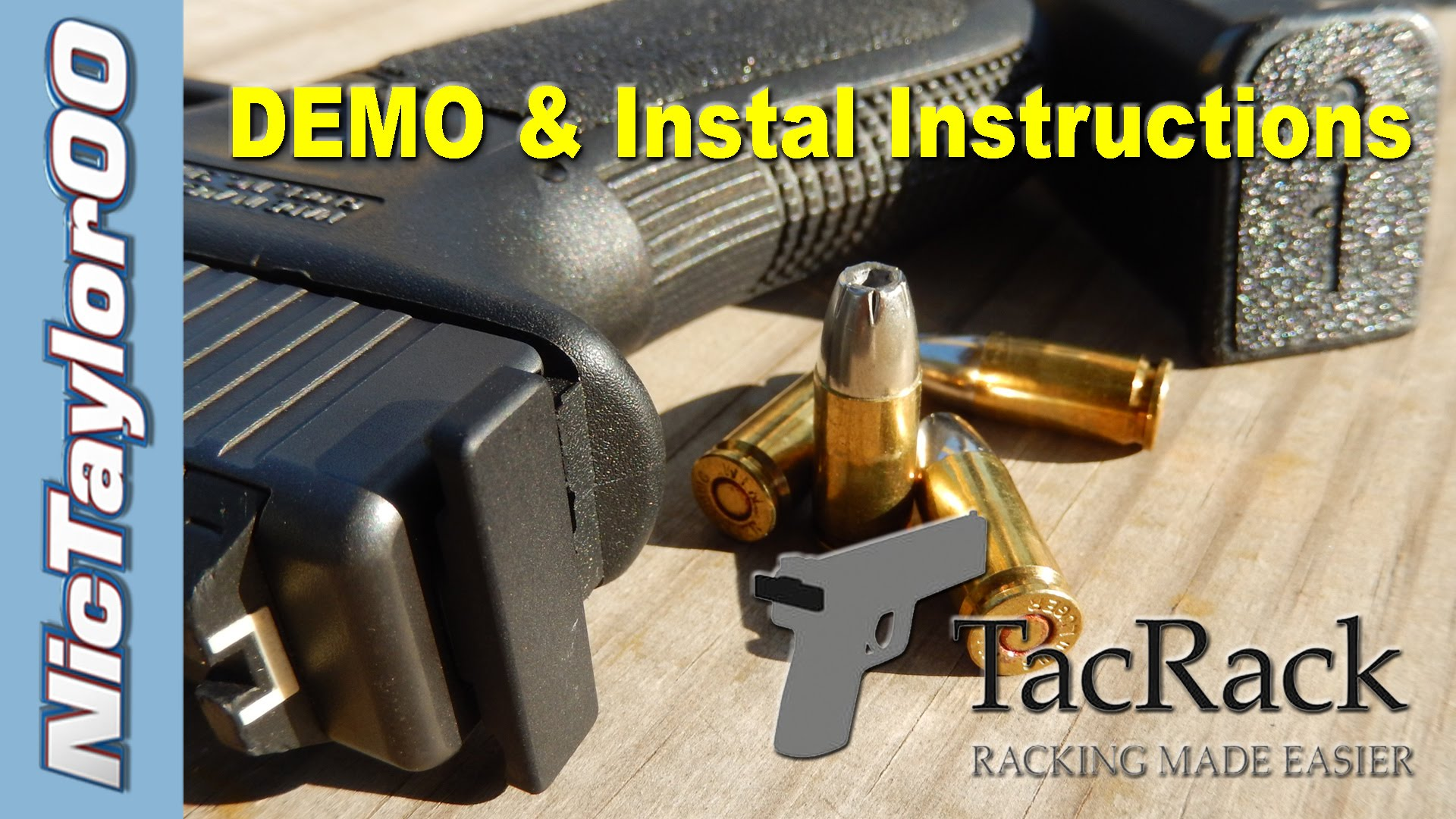 Glock TacRack DEMO & Install Instructions