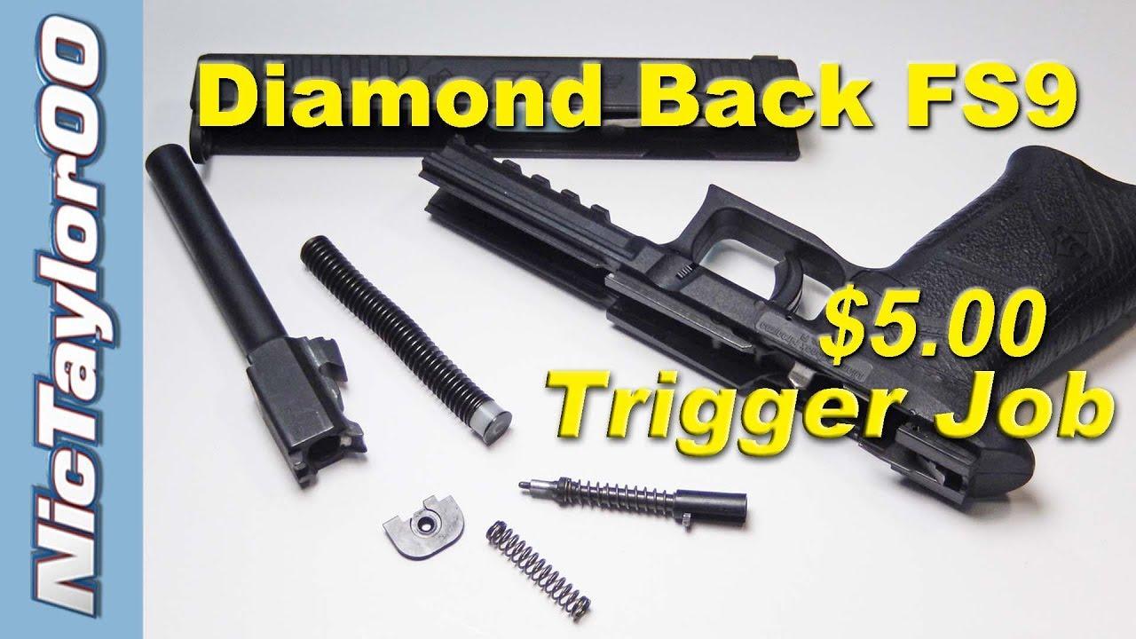 Diamond Back FS9 Simple Trigger Job